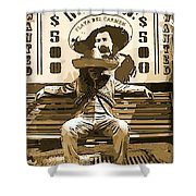 Bandito Shower Curtain