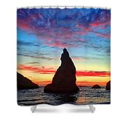 Bandon Clouds Shower Curtain