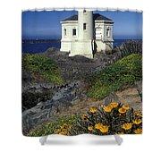 Bandon Lighthouse Shower Curtain