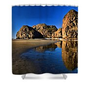 Bandon Low Tide Reflections Shower Curtain