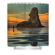 Bandon Photographer Shower Curtain