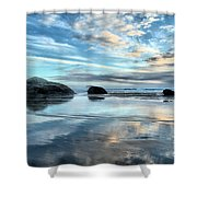 Bandon Rock Garden Shower Curtain
