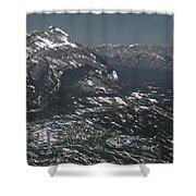 Banff Alberta Canada Shower Curtain