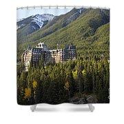 Banff Fairmont Springs Hotel Shower Curtain