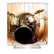 Bang On The Drum All Day Shower Curtain