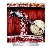 Banjo Mandolin - American Music Shower Curtain