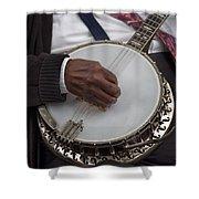 Banjo Music Shower Curtain