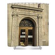 Bank Door Shower Curtain