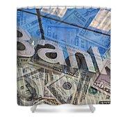 Bank Shower Curtain