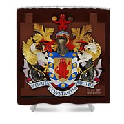 Bank Of Bermuda Coat Of Arms Shower Curtain