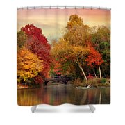 Bank Rock Bay Shower Curtain