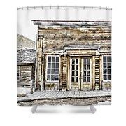Bannack Assay Office Shower Curtain