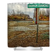 Bannon Diamond 01 Shower Curtain