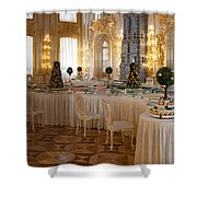 Banquet Room Summer Palace St Petersburg Russia Shower Curtain