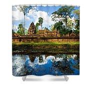 Banteay Srei - Angkor Wat - Cambodia Shower Curtain