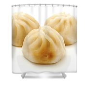 Baozi Shower Curtain