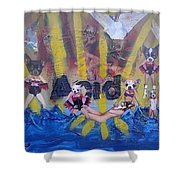 Baptism In Acid Shower Curtain