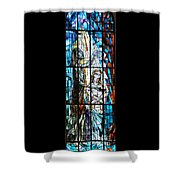 Baptism Of Jesus  Shower Curtain