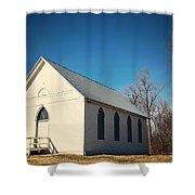 Baptist Church Shower Curtain