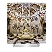 Baptistry At Saint John The Divine Cathedral Shower Curtain