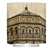 Baptistry - Florence Italy Shower Curtain
