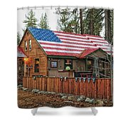 Bar And Grill In South Lake Tahoe Shower Curtain