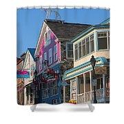 Bar Harbor Downtown  Shower Curtain