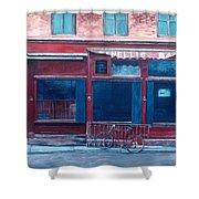 Bar Soho Shower Curtain by Anthony Butera