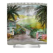 Barbados Shower Curtain