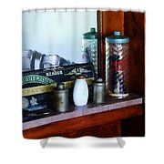 Barber - Barber Supplies Shower Curtain