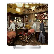 Barber - L.c. Wiseman Barbershop Ny 1895 Shower Curtain