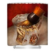 Barber - Shaving - The Beauty Of Barbering Shower Curtain
