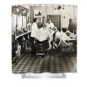 Barber Shop, 1920 Shower Curtain