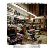 Barber Shop In Montgomery Alabama Shower Curtain