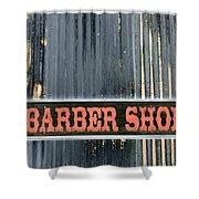 Barber Shop - Photopower Shower Curtain