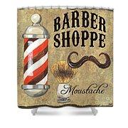 Barber Shoppe 1 Shower Curtain