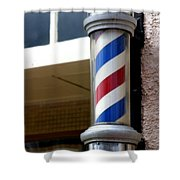 Barber Sign Shower Curtain
