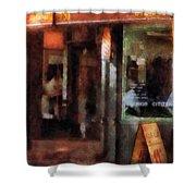 Barber - West Village Barber Shop Shower Curtain