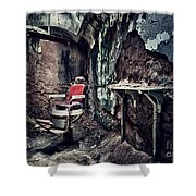 Barber's Chair Shower Curtain