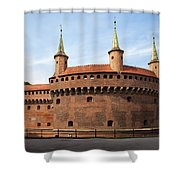 Barbican In Krakow Shower Curtain