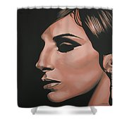 Barbra Streisand Shower Curtain