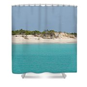 Barbuda Beach And Dunes Shower Curtain