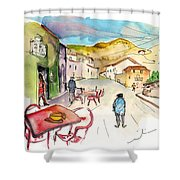 Barca De Alva Street 01 Shower Curtain
