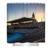 Barcelona Olympic Stadium Shower Curtain