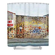 Barefooting  Shower Curtain