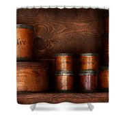 Barista - Coffee - Coffee And Spice Shower Curtain