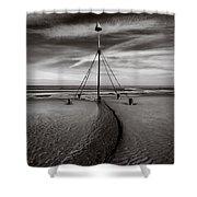 Barkby Beach 2 Shower Curtain