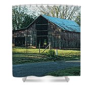 Barn 1 - Featured In Old Building And Ruins Group Shower Curtain