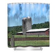 Barn 28 - Featured In Old Buildings And Ruins Group Shower Curtain