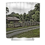 Barn And Corral Shower Curtain